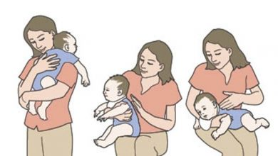 Photo of How to Hold a Newborn Baby When Burping?