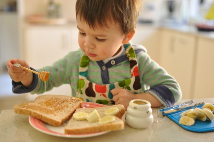 When can my toddler eat honey?